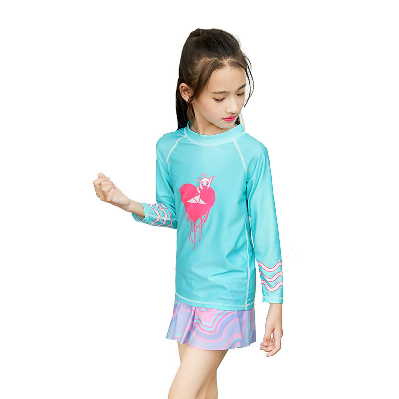 Kid′s Printed Sun Protection Quick Dry Lycra Wetsuit Dress pictures & photos