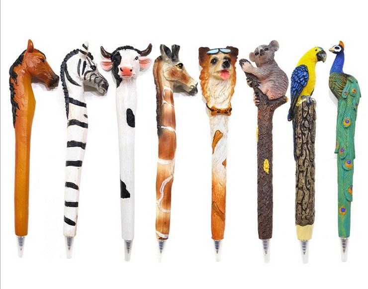 [Hot Item] Custom Hot Sell Animal Shaped Resin Pens