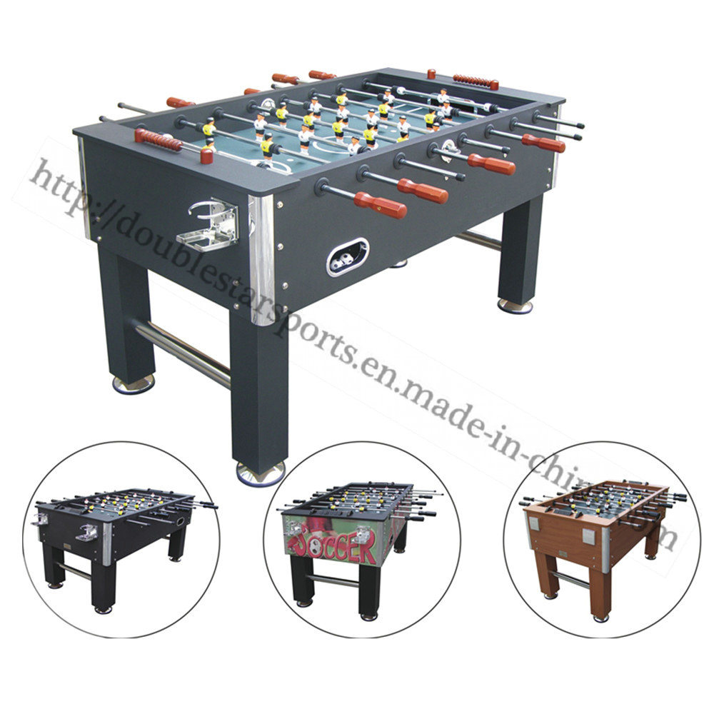 China Professional Foosball Soccer Table Hand Football Game