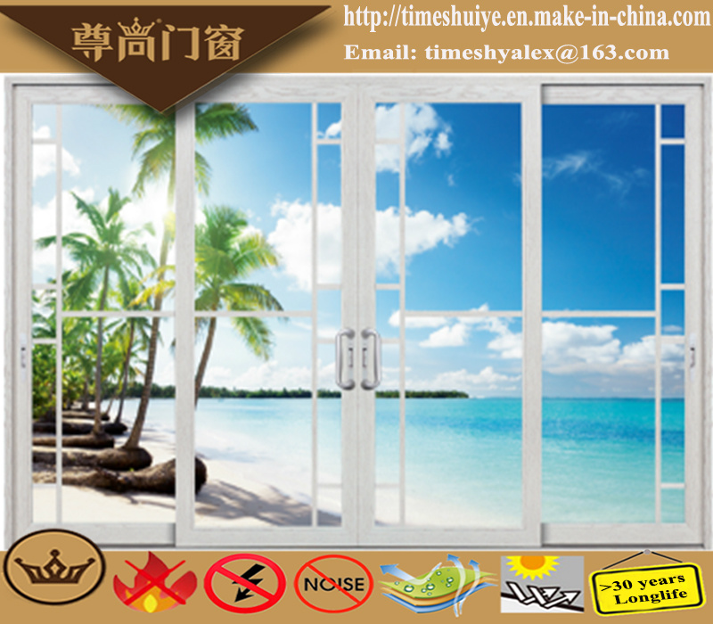 China Factory Aluminum Sliding Doors with Auminium Profile pictures & photos