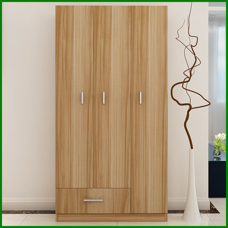 Bedroom Furniture Melamine Chipboard Wardrobe Cabinet