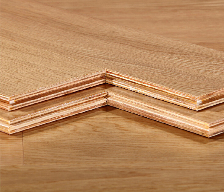 China High Quality Hickory Solid Wood Multi Layer Real Floor Engineered Wooden Flooring