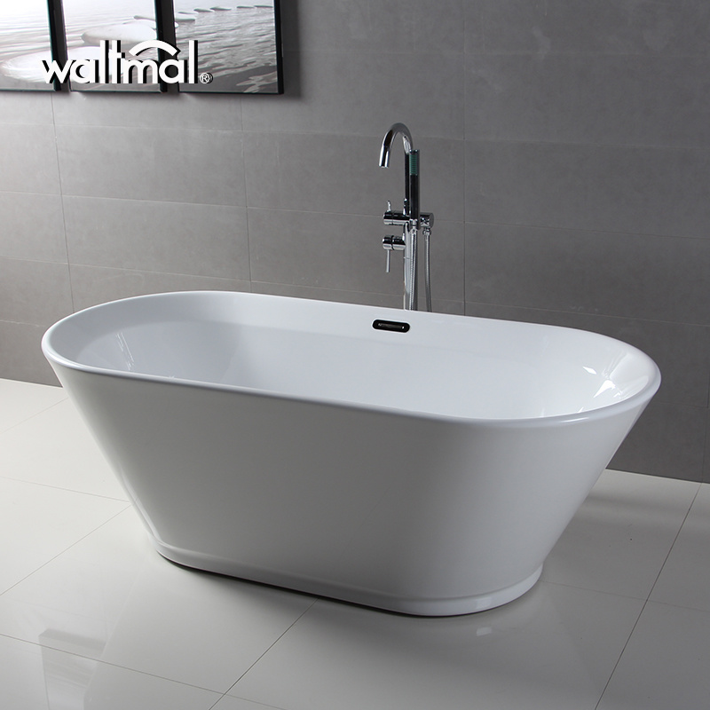 China Wholesale Freestanding Deep Acrylic Soaking Bath Tub - China ...