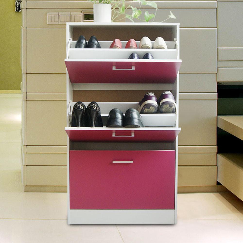 China Fashion Style 3 Drawer Shoe Cabinet   China Shoe Rack, Three Doors Shoe  Rack