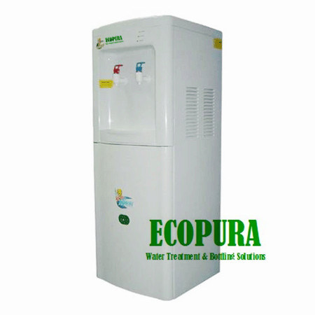 Classic Hot and Cold Water Dispenser with 50L Fridge