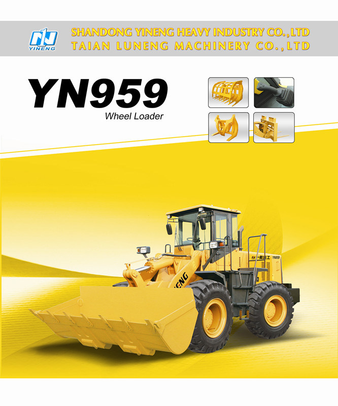 Yn959g Wheel Loader China Top Shan Dong Yineng pictures & photos