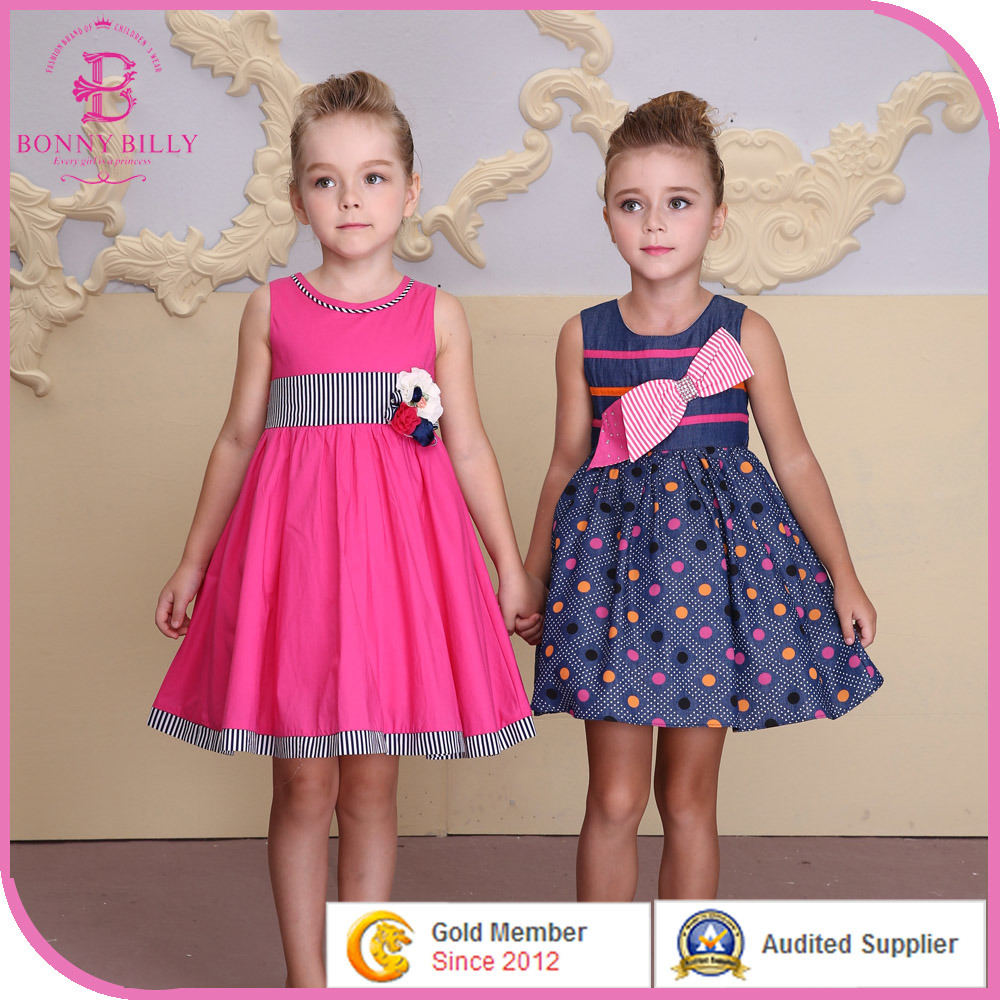 China High Quality Children Party Dress, Baby Girl Cotton Frocks ...