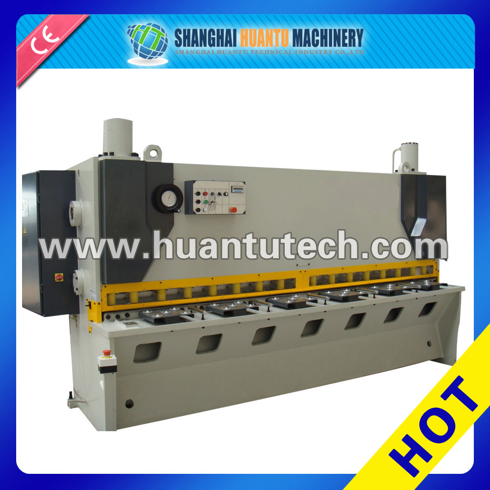Swing Beam Guillotine Hydraulic Shear Hydrauli Cutting Machine, CNC Cutting Machine, Guillotine Cutting Machine Metal Plate Shearing Machine