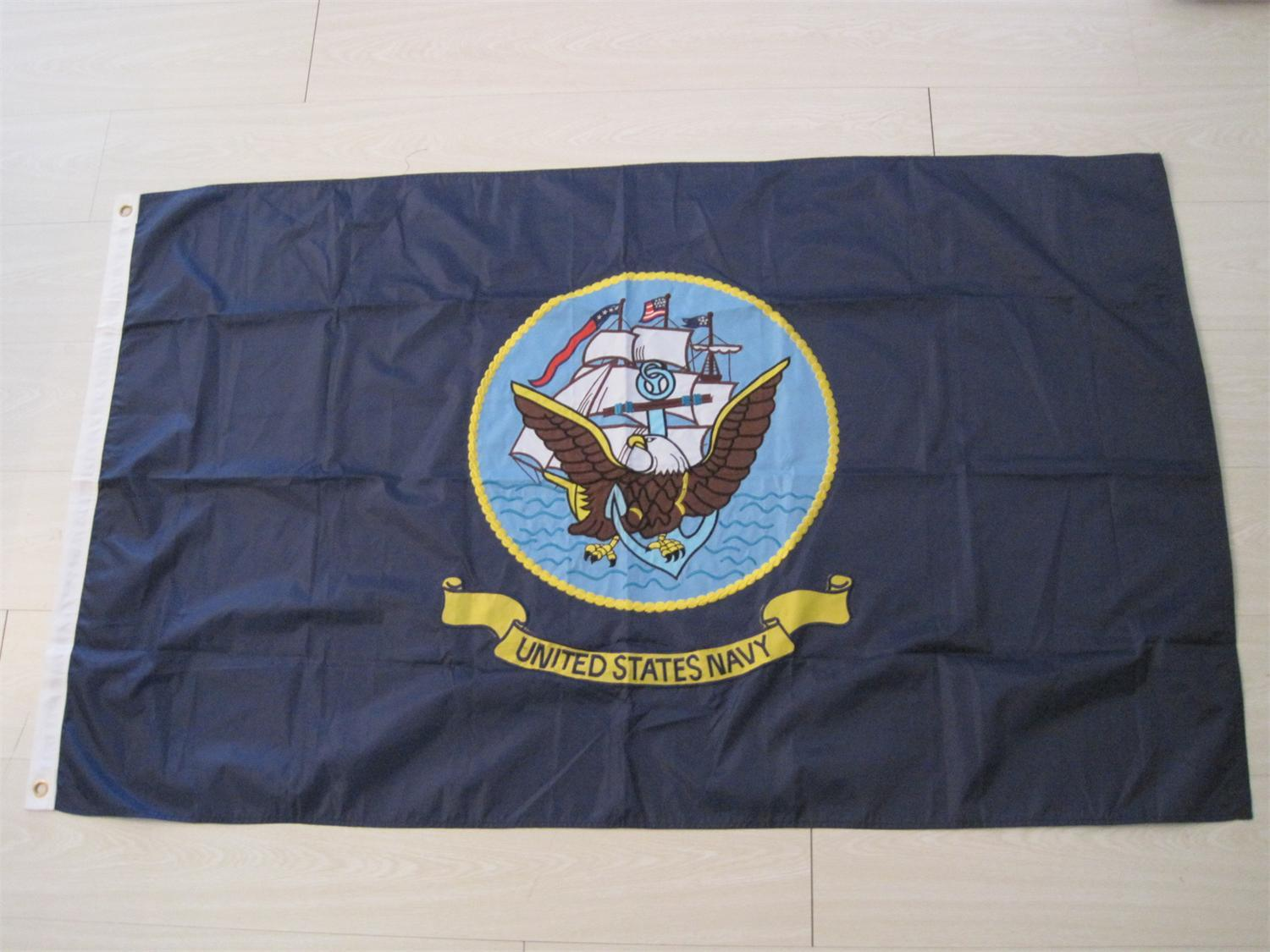 Embroidery National Outdoor Polyester Display Banner Flag pictures & photos