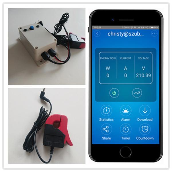 China CT Wireless Electricity Monitor CT Sensing Meter - China Power ...
