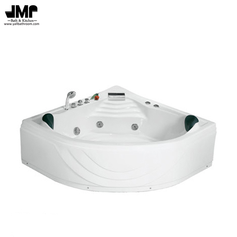 China Corner Whirlpool Bathroom Jacuzzi Sanitary Ware Massage ...