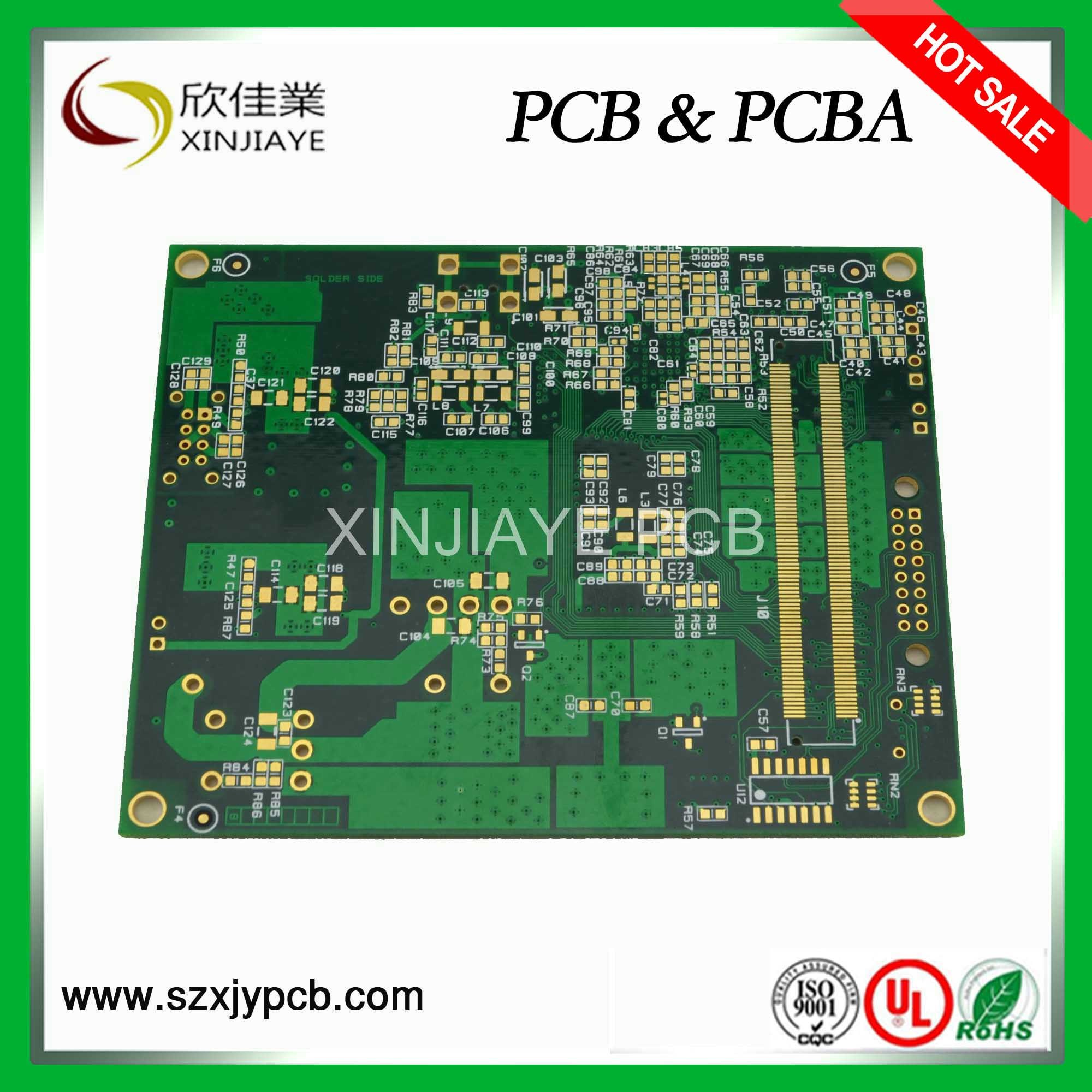 china double layer prototype pcb board with quick turn service