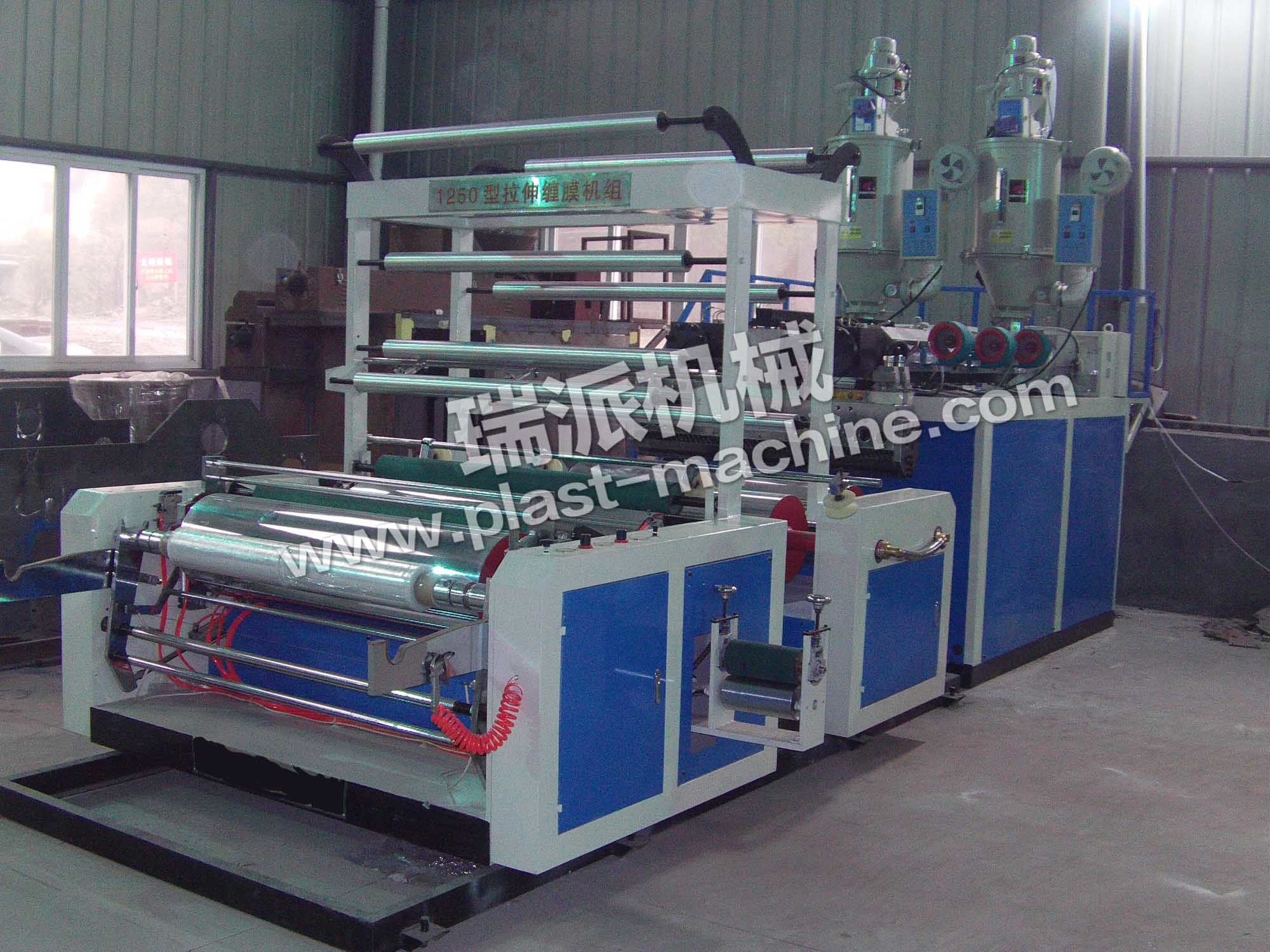 High Quality Double Layer Co-Extrusion Stretch Film Machine pictures & photos