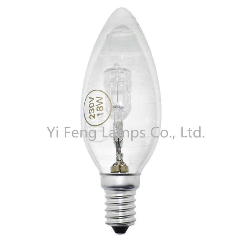 Eco C35 Halogen Bulb with CE, RoHS Approved