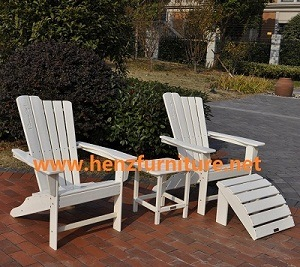 Beau Plastic Wood Adirondack Chair (HZSBA 5)