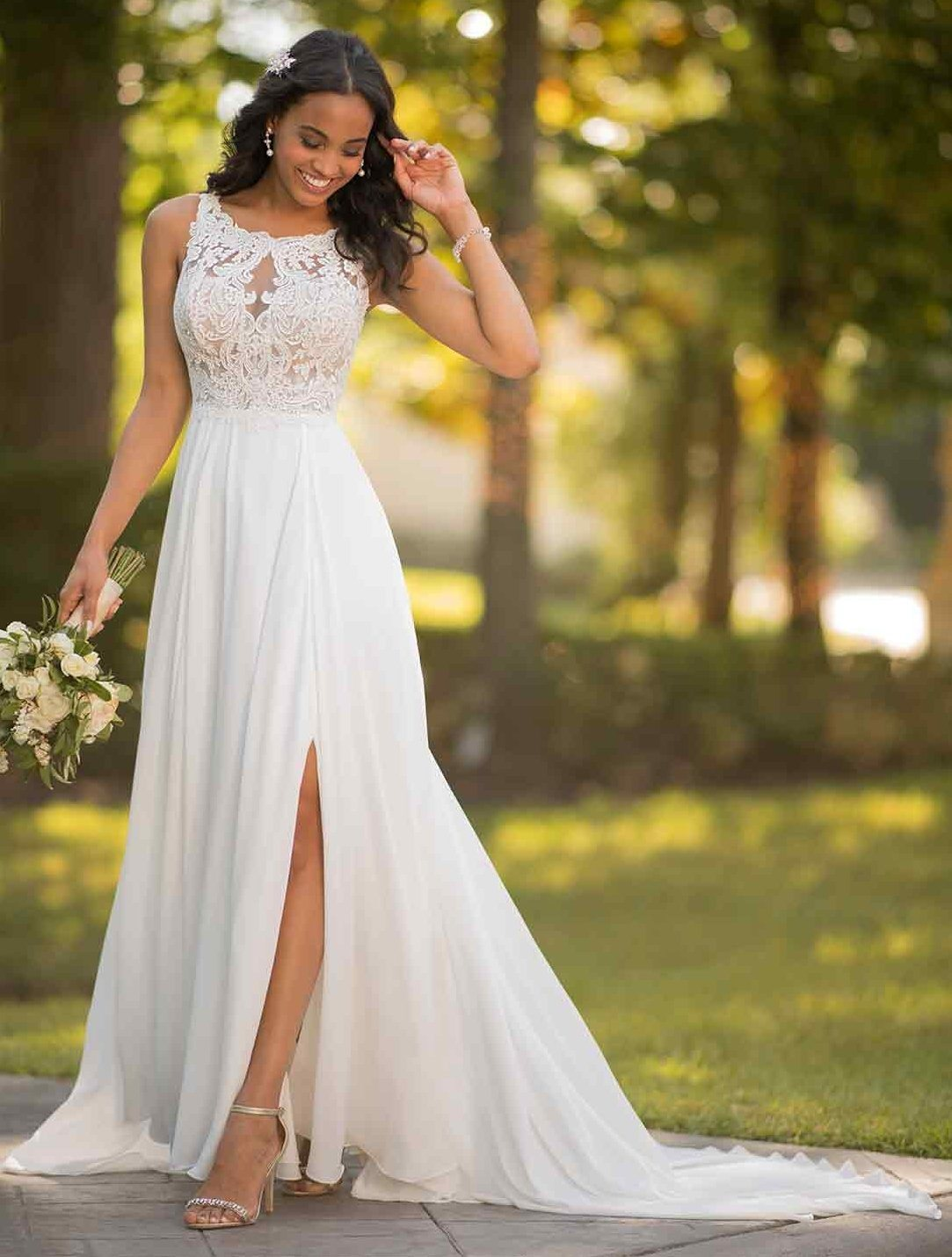 China Lace Top Bridal Gowns Party