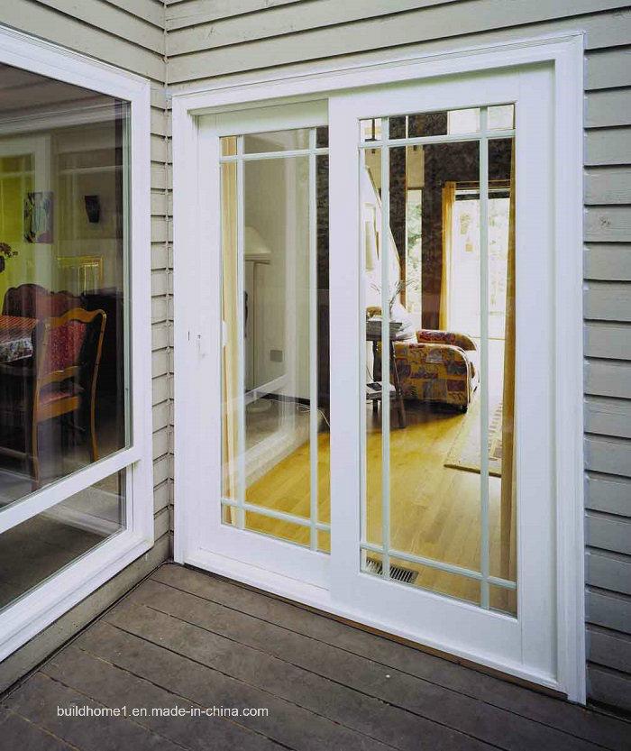 China Vertical Blinds French Patio Aluminium Exterior Doors China