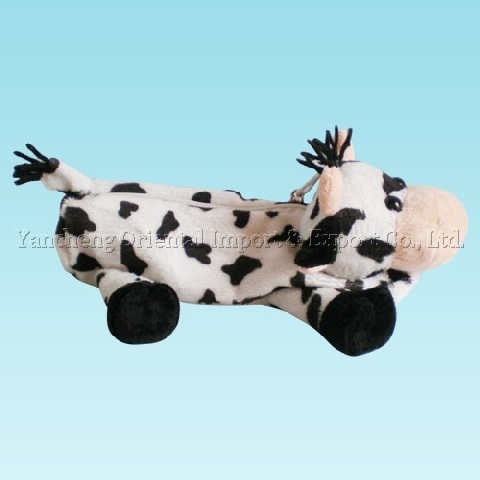 [Hot Item] Plush Cow Pencilcase with Soft Material