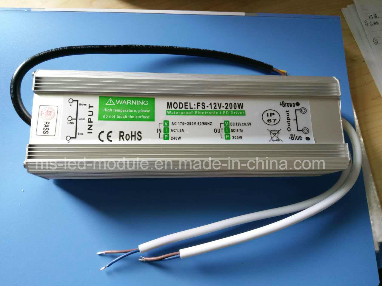 60W LED Netzteil 12V Trafo Wasserdicht IP67