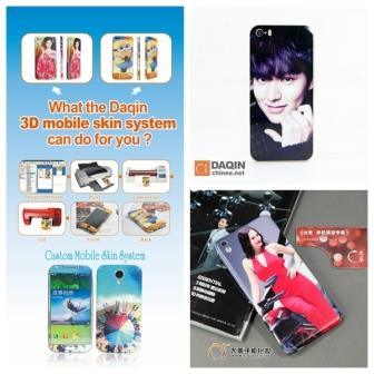 new style 44dc9 e904e [Hot Item] Mobile Phone Sticker Printer Cell Phone Skin Machine for Sale