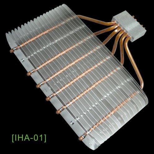 Heatsink for Home Appliane with 6heatpipes and High Performance