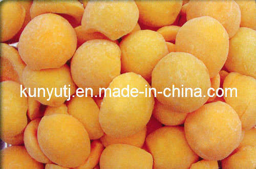 Frozen Yellow Peach with High Quality