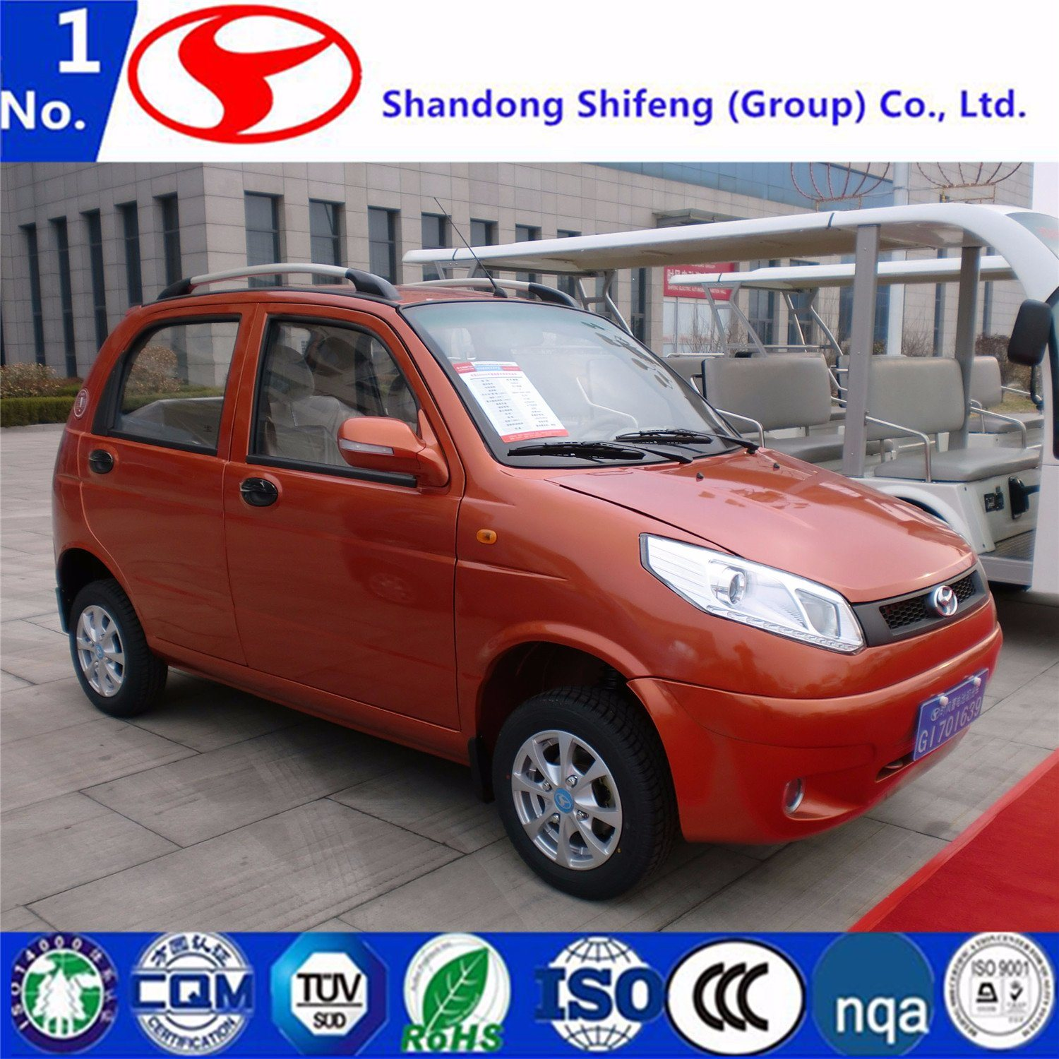 China Newest Chinese Mini Electric Car 4 Seat Adult Electric Car