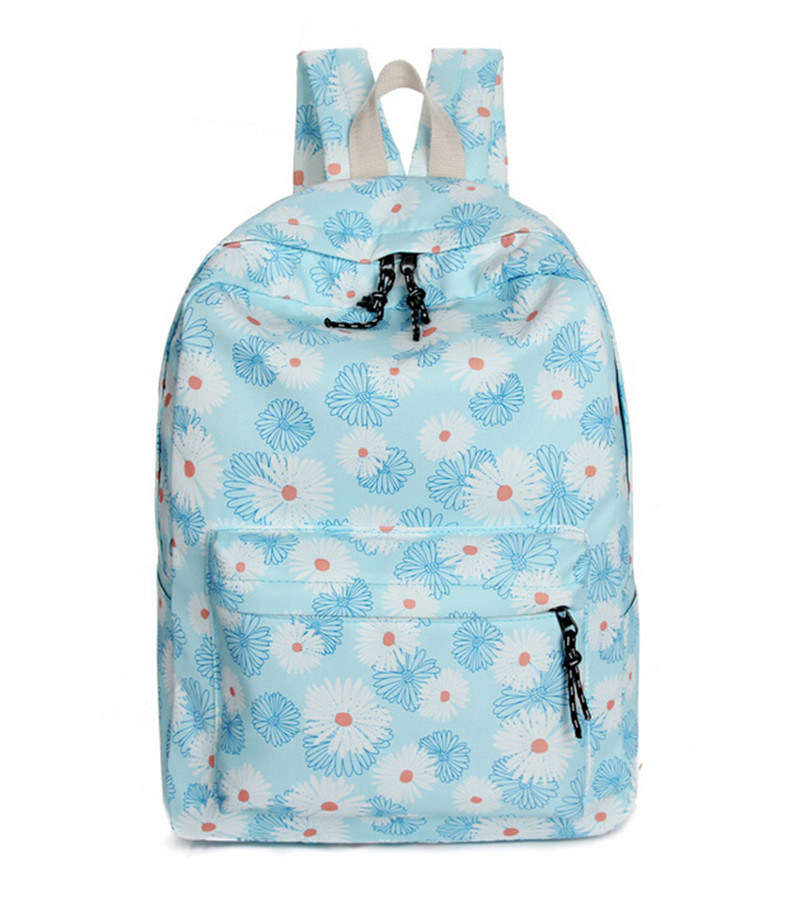 New Fashion Canvas School Bag Travel Backpack for Women
