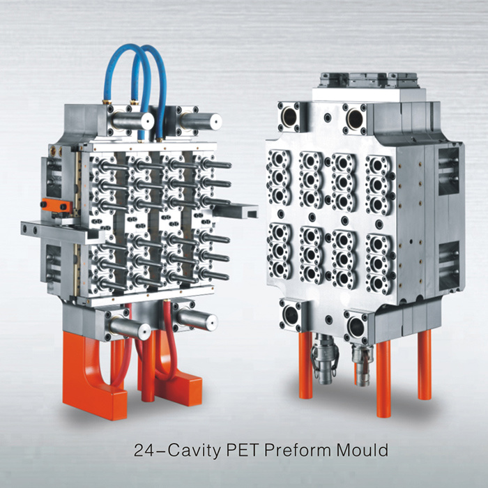[Hot Item] Demark Hot Runner 24 Cavities Pet Preform Injection Mould,  Injection Mould for Plastic Preform