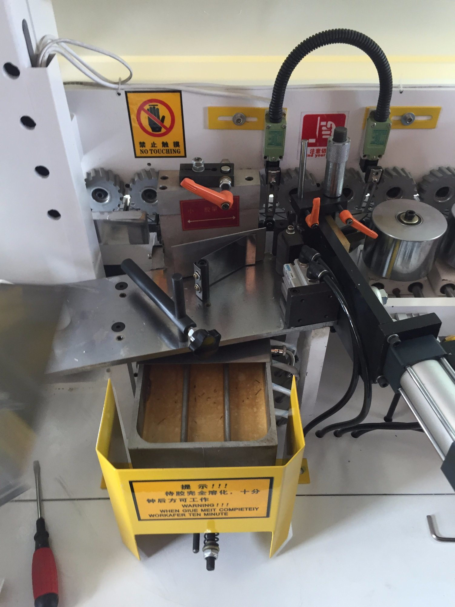 Double Sides Slotting Automatic Edge Banding Machine pictures & photos