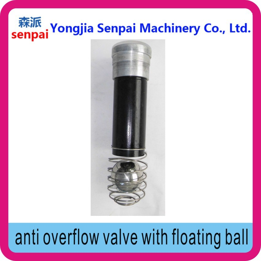 Anti Overflow Valve with Flowing Ball