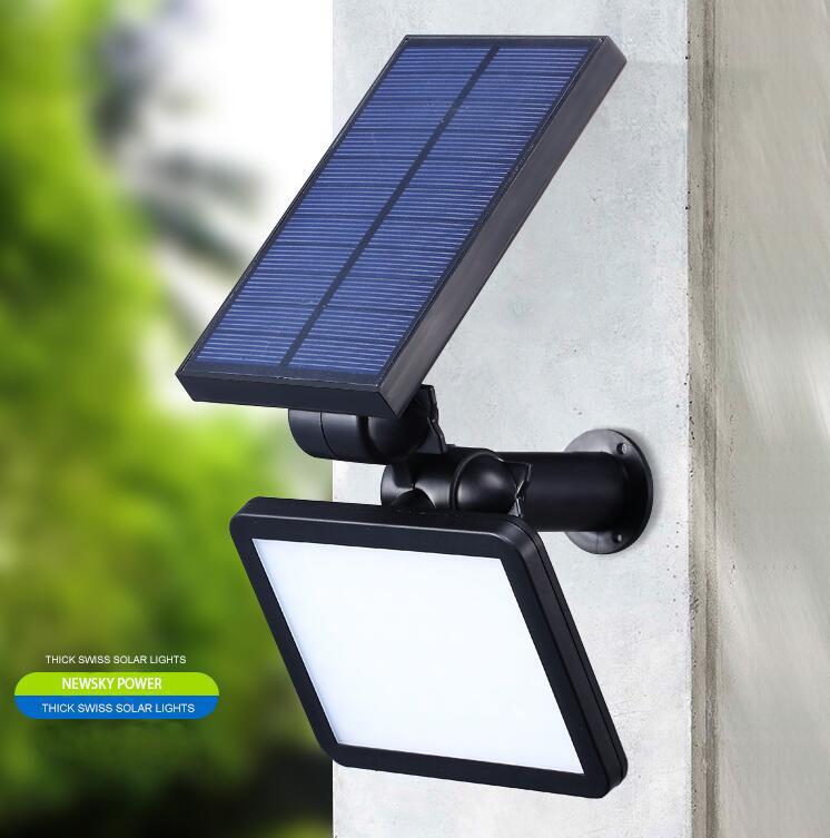 Hot Item Outdoor Exterior Wall Solar Ed Led Lights