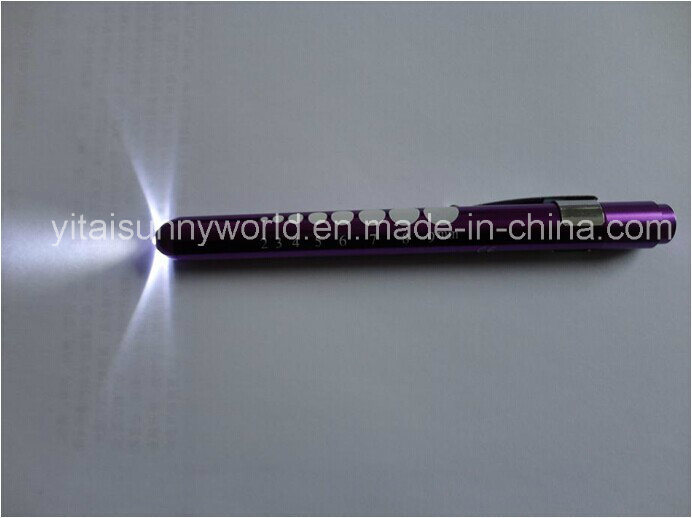 Aluminum-Alloy  Penlight with LED Light (SW-PL33)