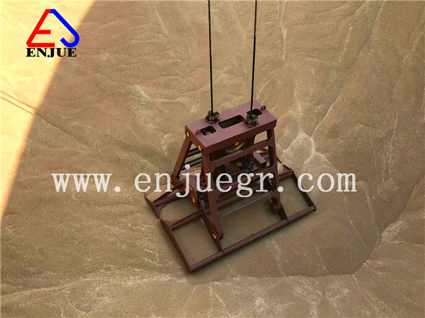 [Hot Item] Single Line Hook on Hydraulic Radio Remote Controlled Opening  Grab Bucket Clamshell
