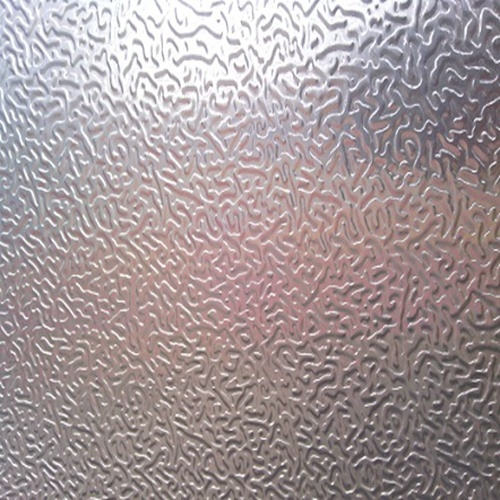 Clear Coating Stucco Aluminum Embossed Coil Sheet