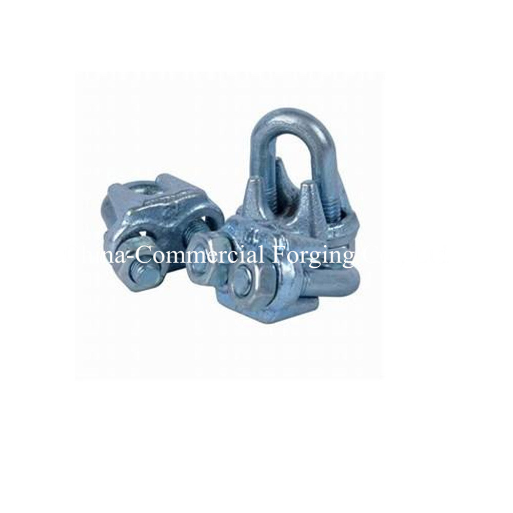China U. S. Type Drop Forged Marine Rigging Wire Rope Clip - China ...