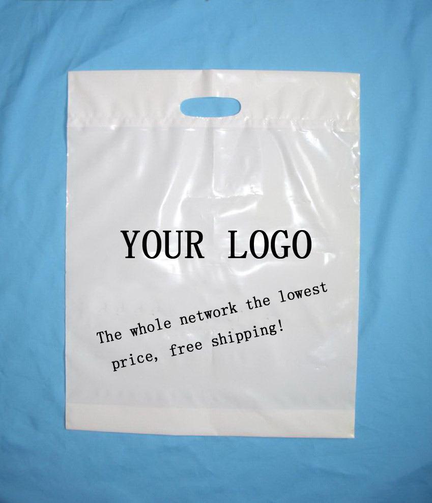 Hot Item Custom Plastic Ping Bags With Logo