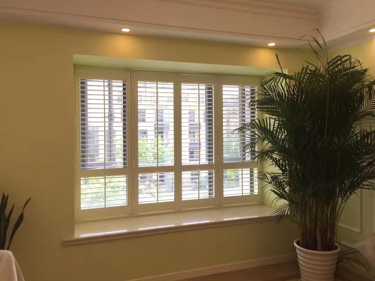 Hot Item 2018 Custom Basswood New Interior Plantation Window Shutters