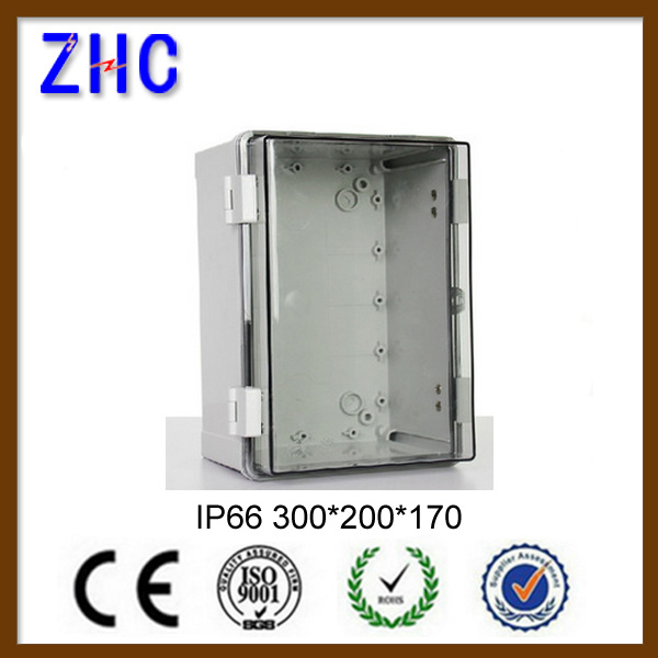 Clear Cover Plastic PVC Box Electronics Clear Electrical Junction Box China Enclosure Box for Electronic