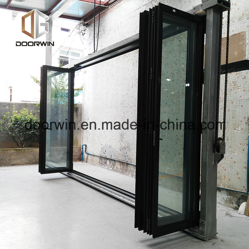 China Sliding Aluminum Alloy Balcony Door, Duable Thermal Break