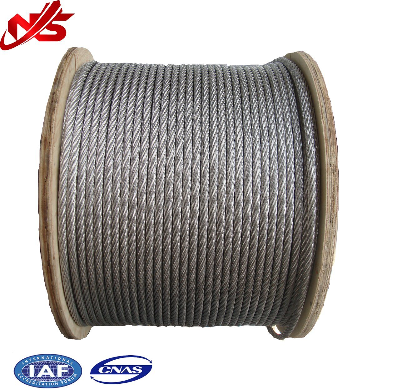 China Galvanized Steel Wire Rope 6X7+FC/Iws/Iwrc for Electric Car ...