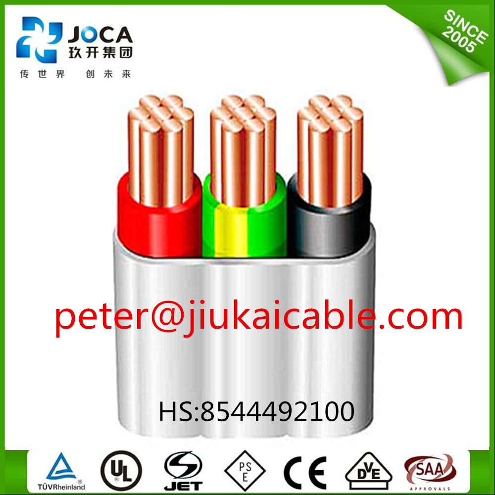 China Flat Thermoplastic Pvc Sheathed Wire Tps Cable Harness Sheathing