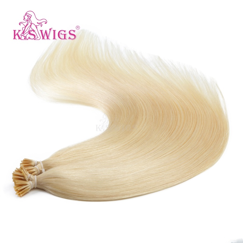 K. S Wigs 100% Virgin Remy Human Hair Keratin I-Tip Hair Extensions pictures & photos
