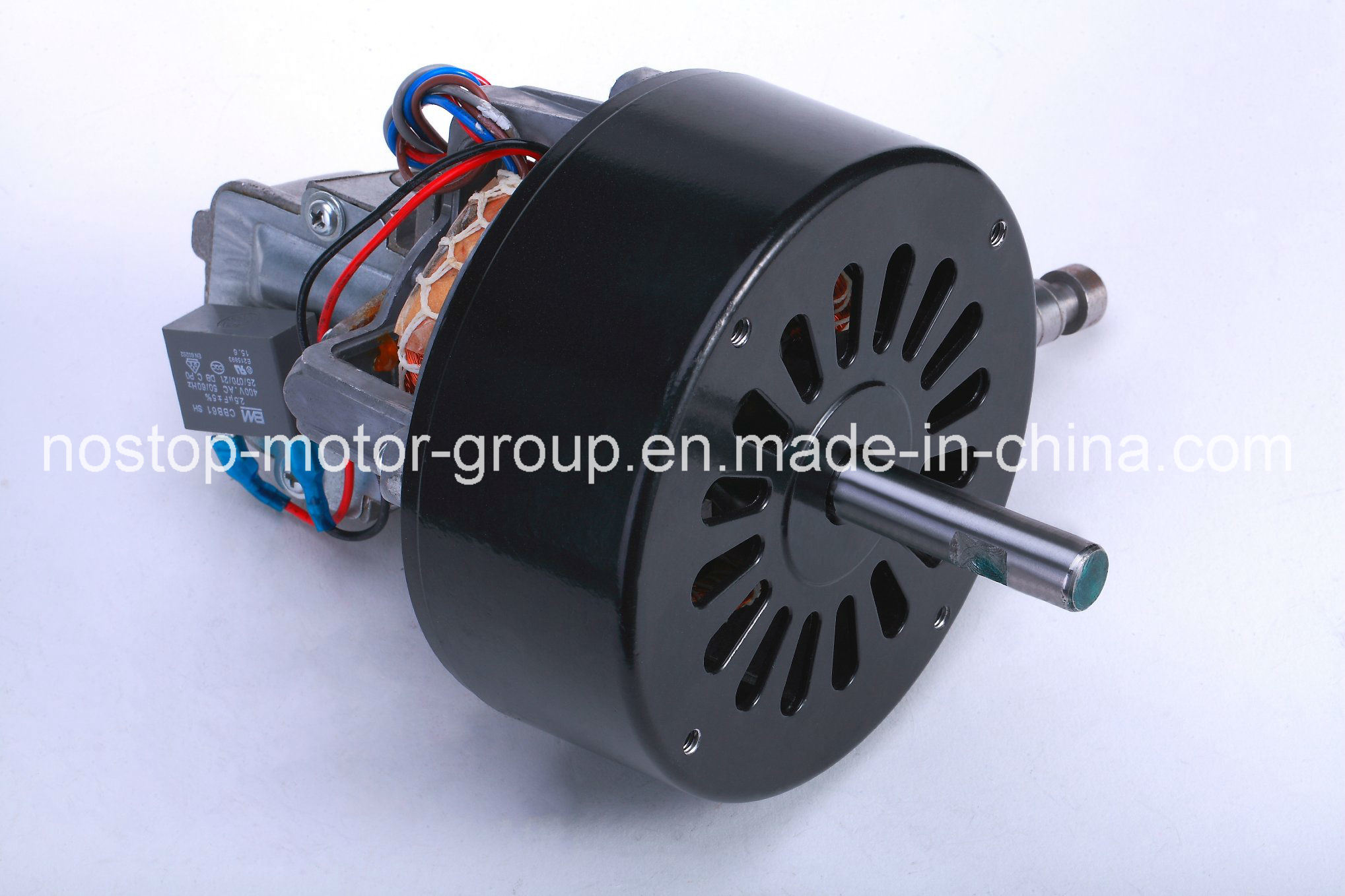 China Ac Industrial Asynchronous Fan Single Phase Electric Motor Wiring 95w 1350rpm