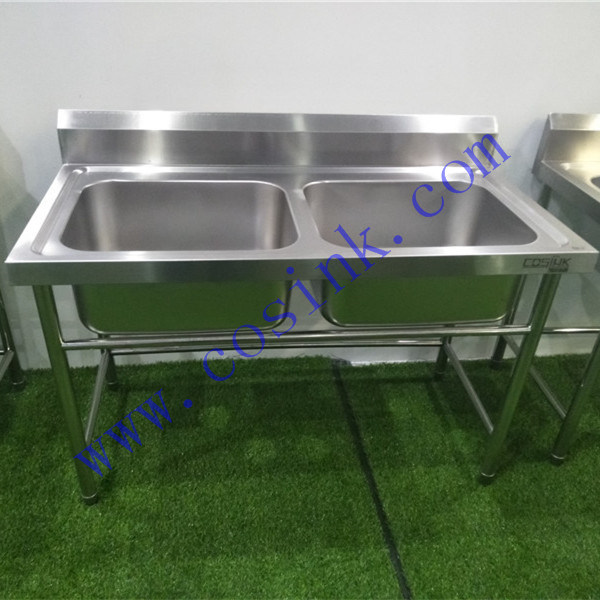 [Hot Item] European High-End Custom Zise Commercial Kitchen Stainless Steel  Sink