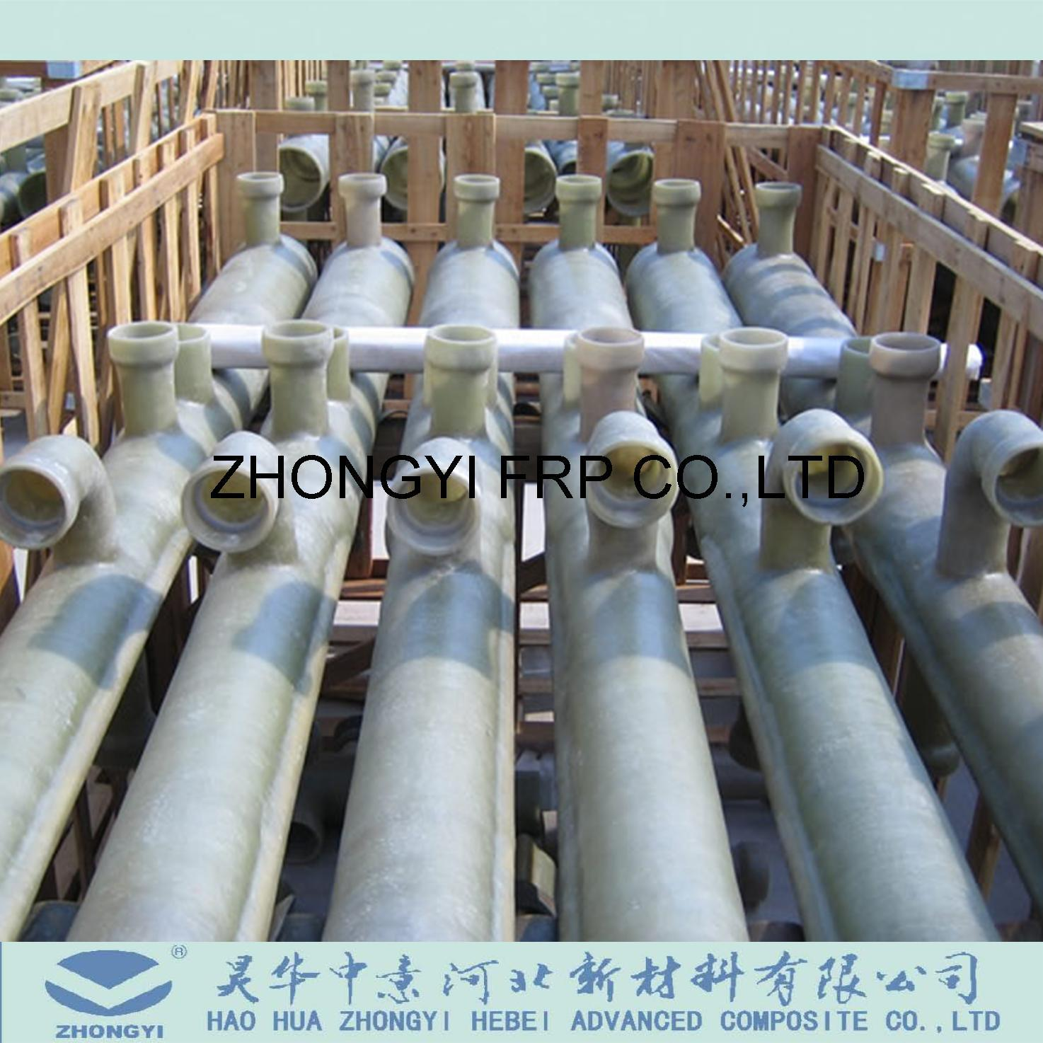 [Hot Item] GRP FRP Pipe Presure Fittings Such as Flanges, Coupling, Elbows