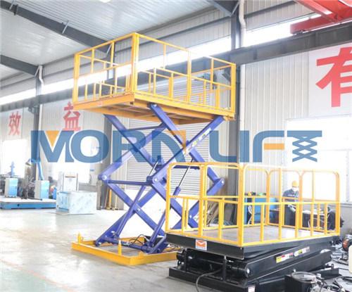 China Stationary Durable MID-Rise Hydraulic Scissor Lift - China