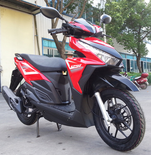 125cc-150cc Gasoline Scooter Gas Scooter for Asia Market