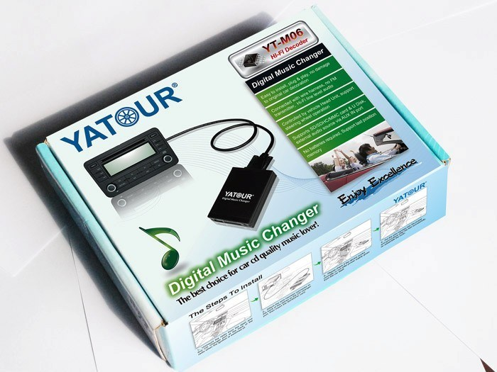 for Yatour Lexus (ES/IS/GS/GX/LS/LX/RX/SC) Digital Music Changer Yt-M06