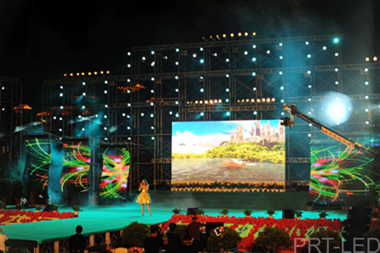 Waterproof P10 Soft LED Video Screen Flexible for Stage/Event/Show pictures & photos